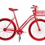 Ladies Red bike by Martone at The wedding Shop £1000