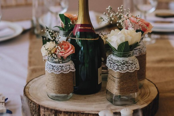 A rustic-chic wedding by the riverside