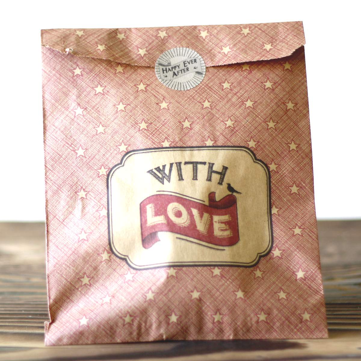 Paper gift bags £3.60 for 40 The Wedding of my Dreams