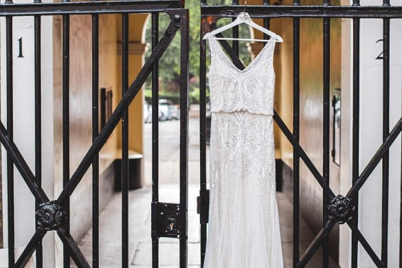 An uber-chic urban real wedding…