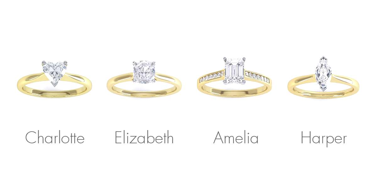 Yellow Gold_DR Design Your Ring Styles