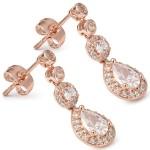 Charleston Rose Earrings