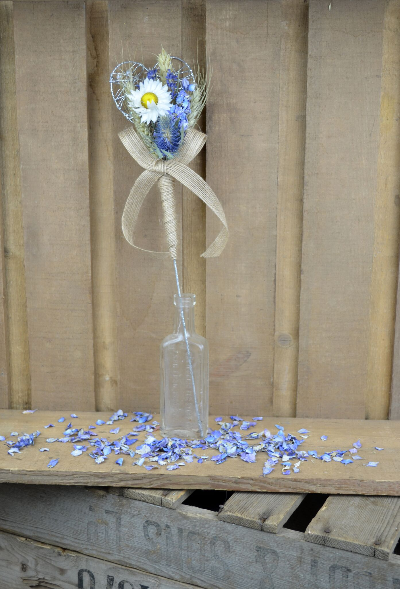 ShropshirePetals.com Blue Flower Girl Wand £9.50 each (4)_preview