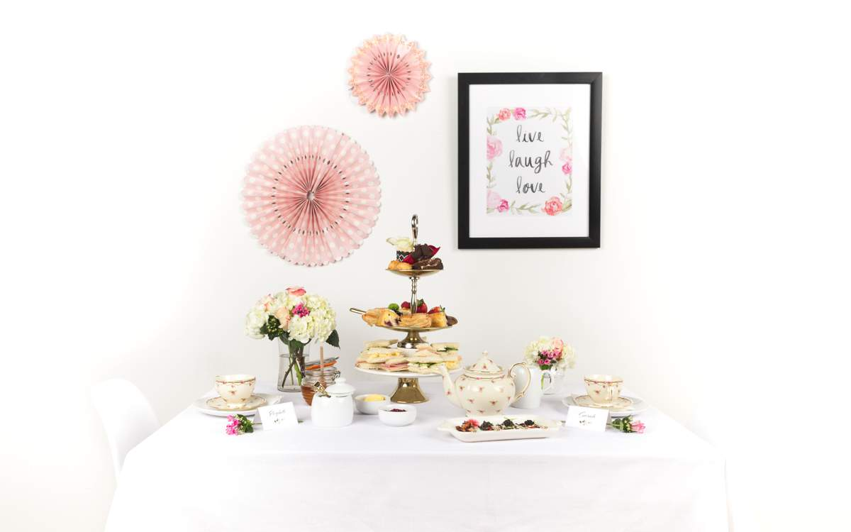 b69037ac3607 Put a quintessentially British spin on the American bridal shower idea and  host an elegant English Country Garden hen tea party…