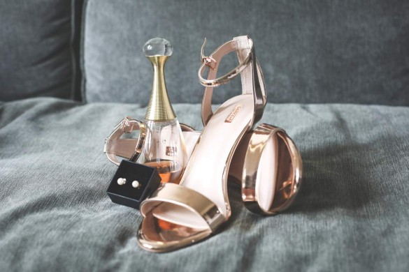 rose-gold accessories