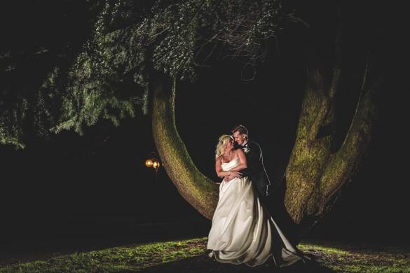 A real winter wonderland wedding