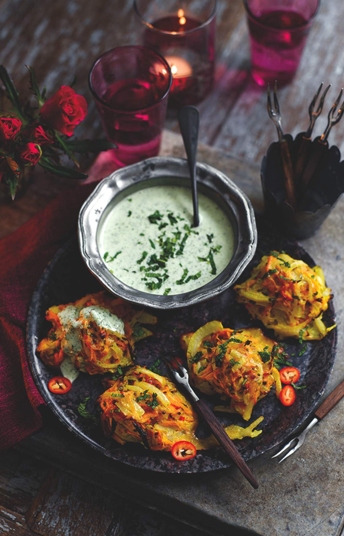 Onion & Sweet Potato Bhaji
