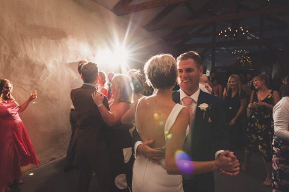 A radiantly rustic real wedding