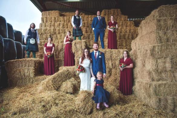 A vintage tea-party real wedding