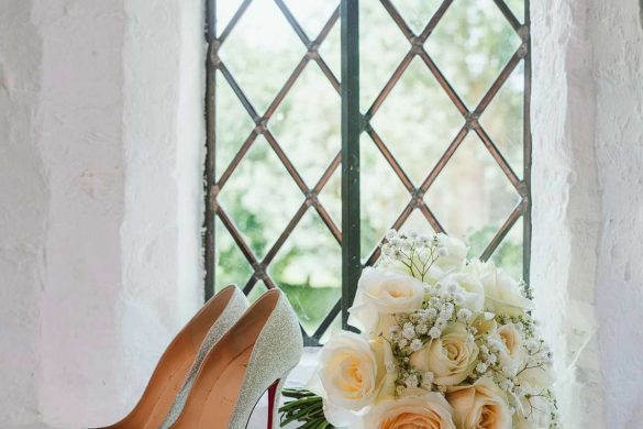 A breathtaking wedding at Leez Priory