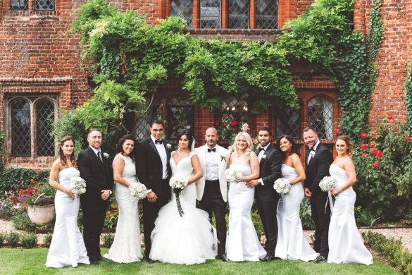 A classic white wedding in Essex