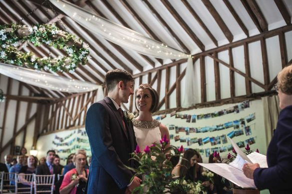 A stunning barn wedding in suffolk