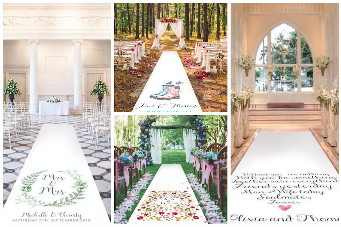 Gorgeous Wedding Aisle Runners For Every Theme Love Our Wedding