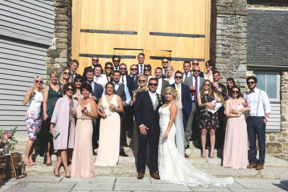A sunny wedding in Devon