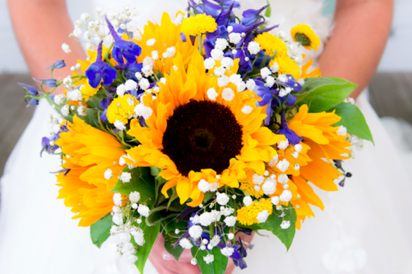 sunflower bouquet ideas