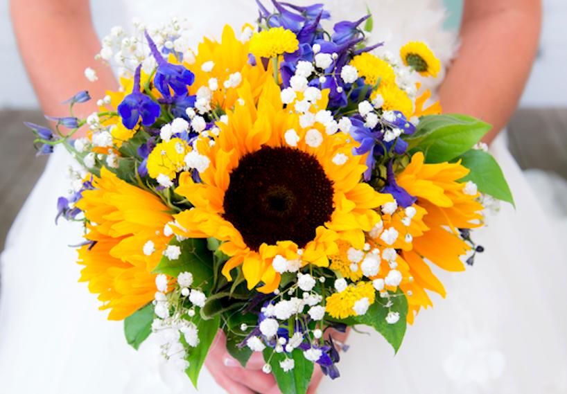 sunflower bouquet ideas