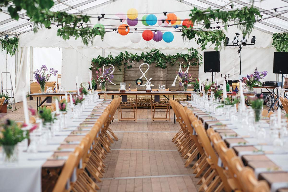 Instagram-worthy wedding