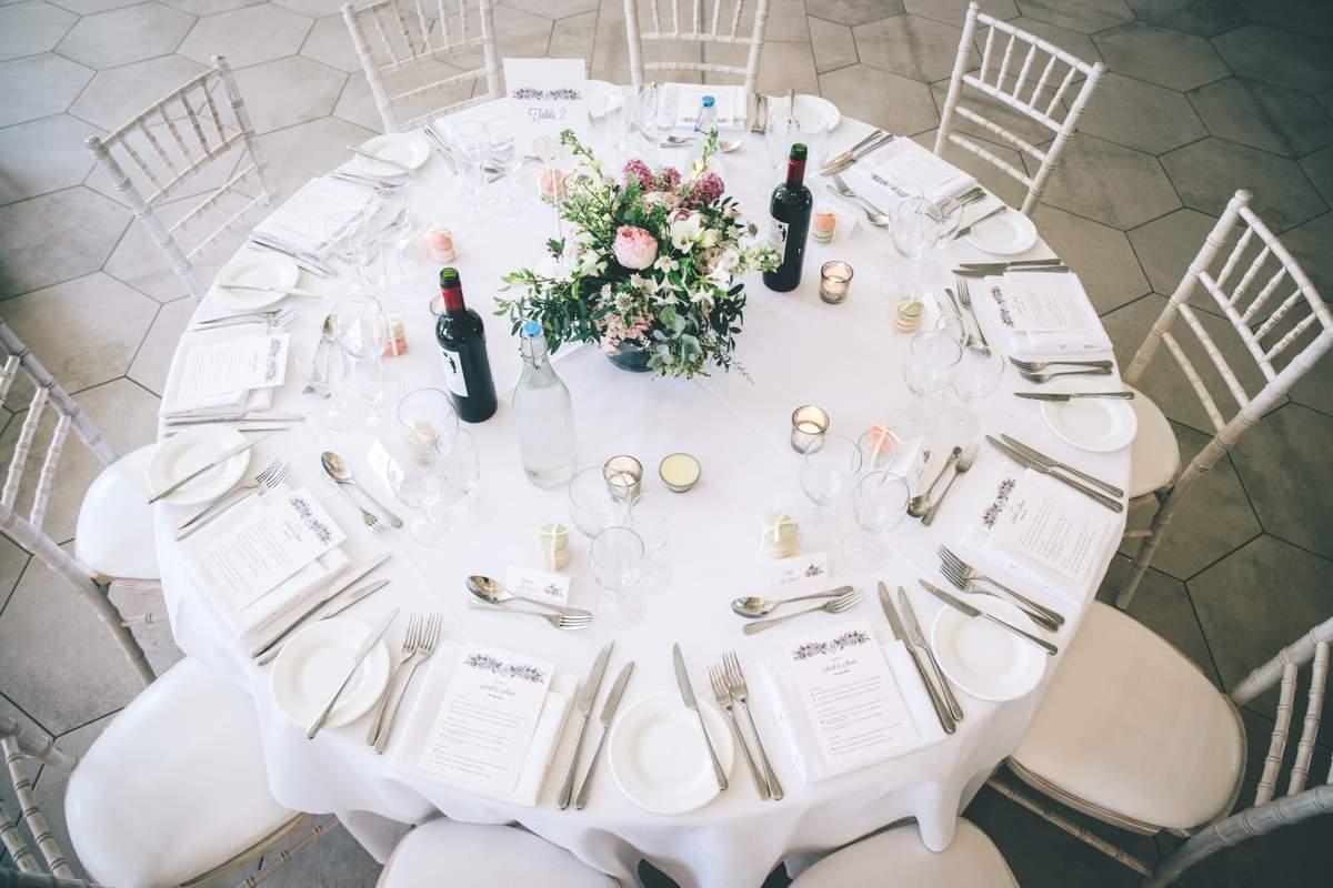 wedding menu planning