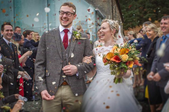 An Autumn wedding in Wales