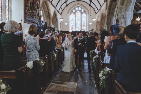 A summer wedding in Cornwall