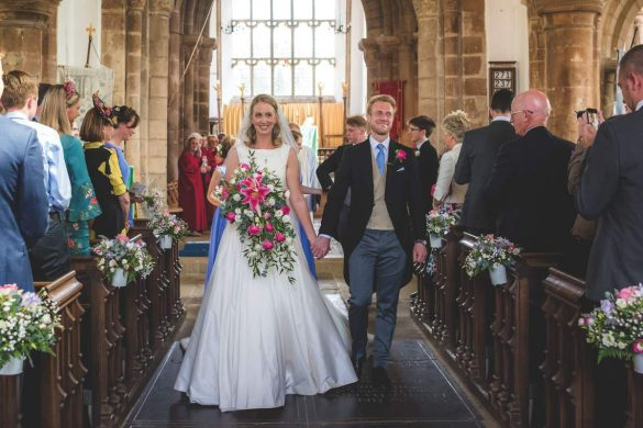 A beautiful summer wedding in Peterborough