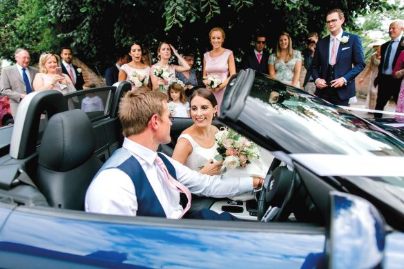 A beautiful summer wedding in Hampshire