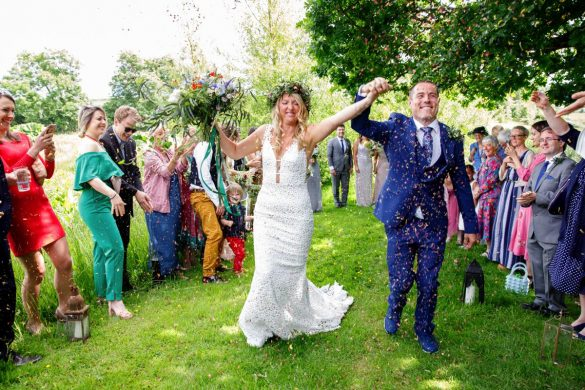 A fun, festival wedding in North Devon