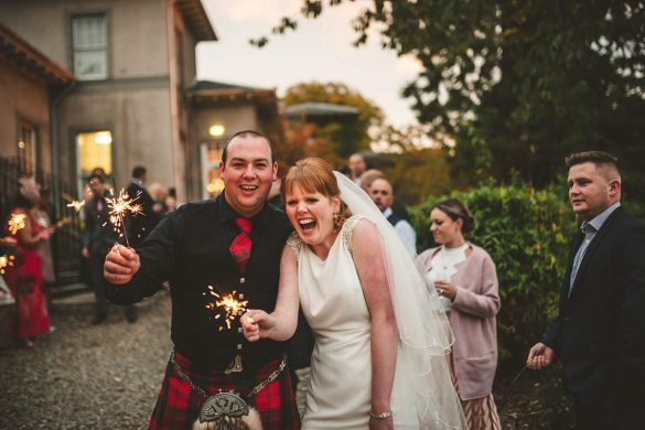 An amazing Aberdeenshire wedding