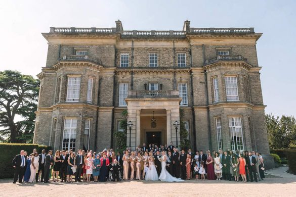 A black tie wedding  in Buckinghamshire