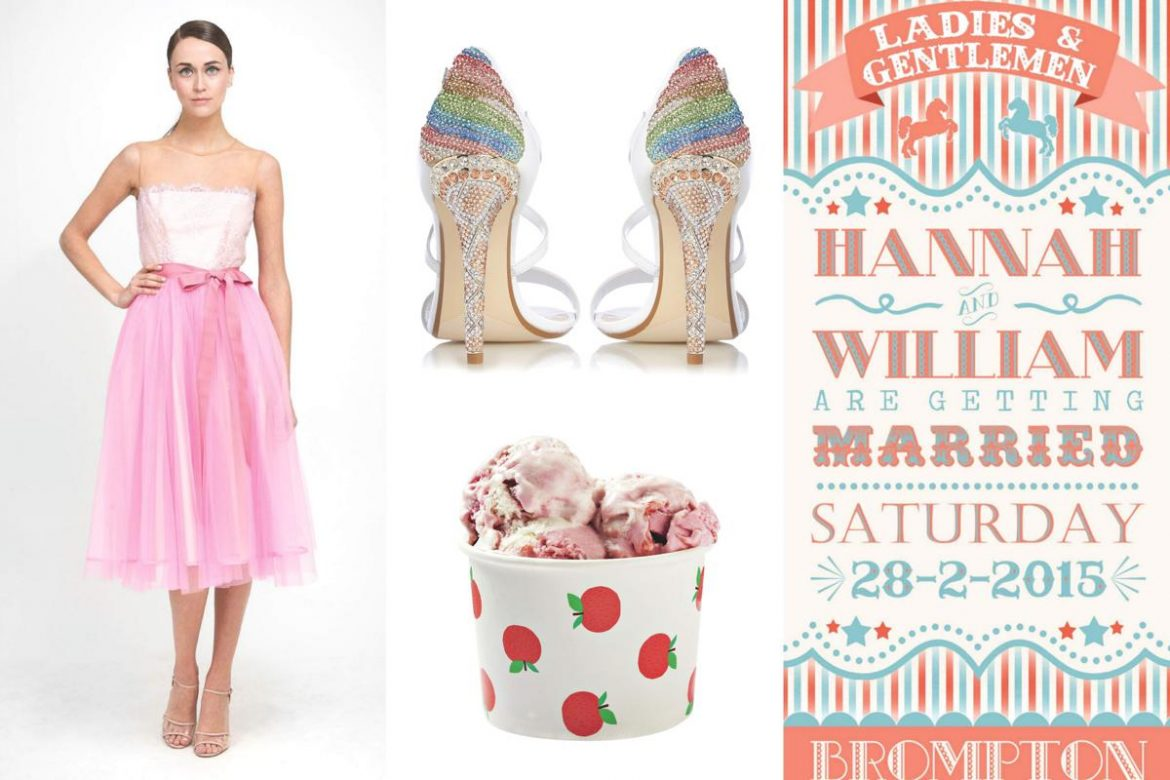 fairground wedding theme