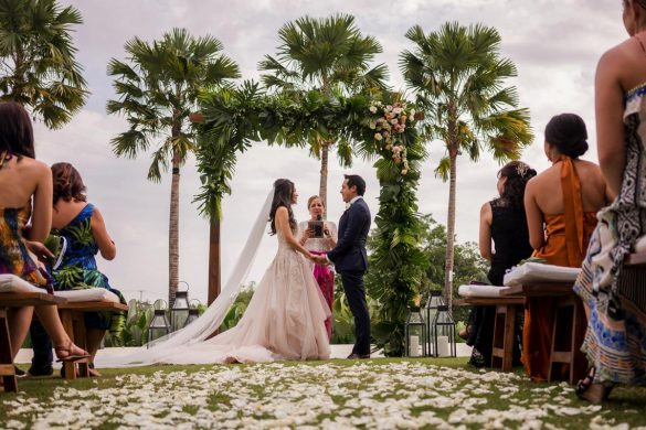 A beautiful Bali wedding