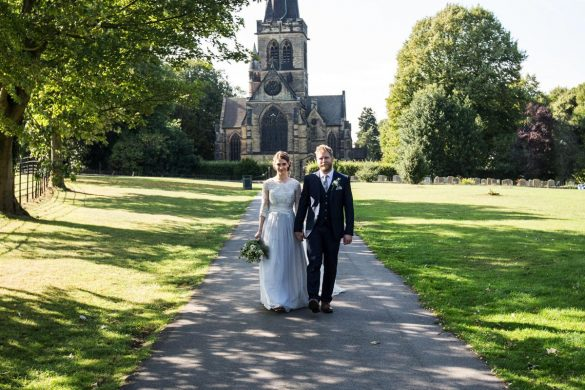 A relaxed September wedding