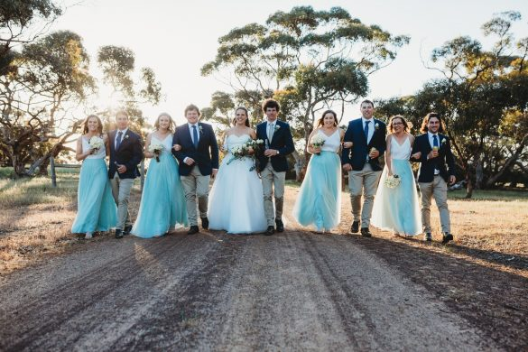 A rustic wedding in Australia