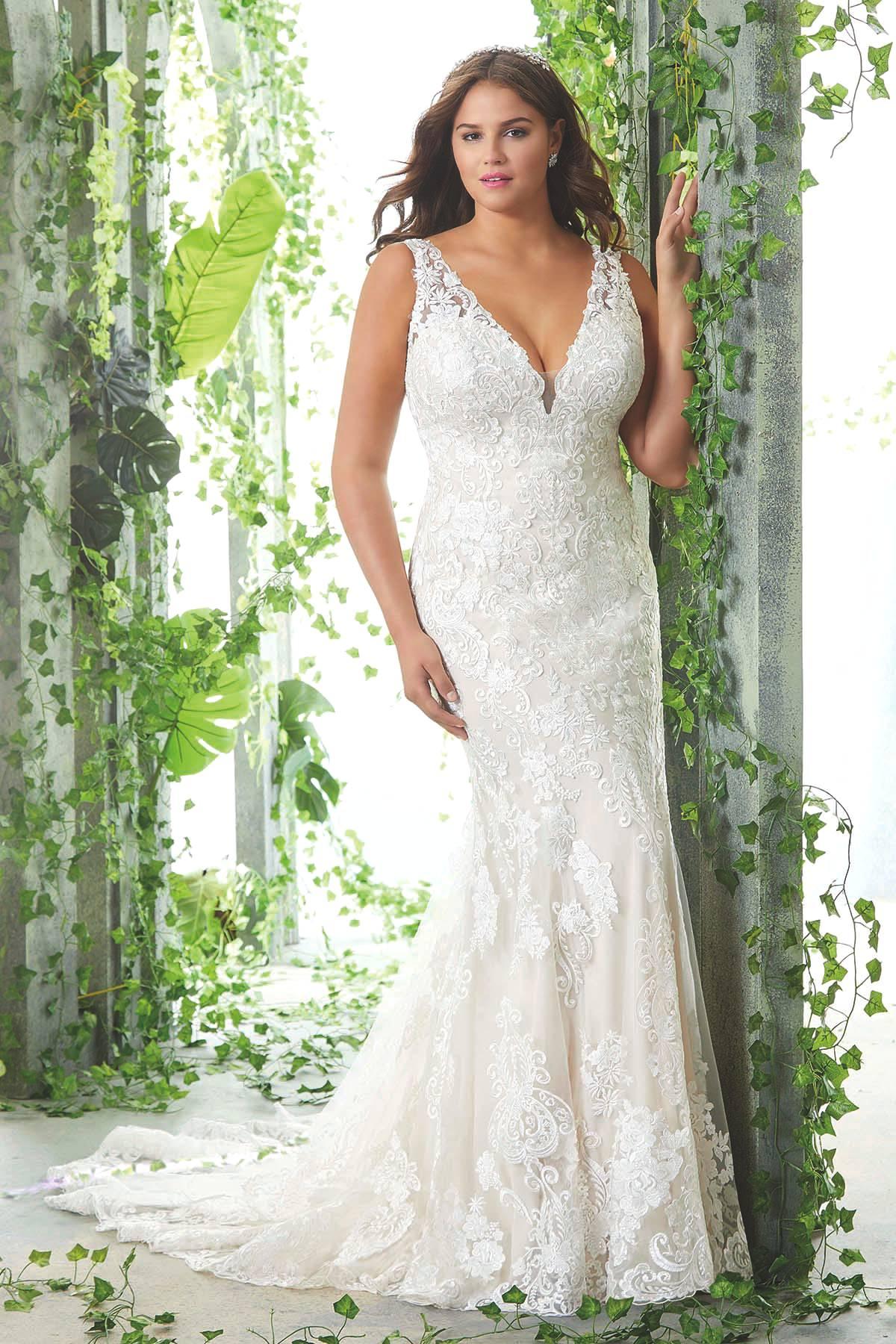 plus-size wedding dresses