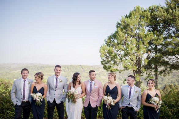 An elegant wedding in Australia