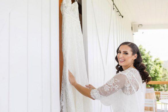 An elegant wedding in Australia