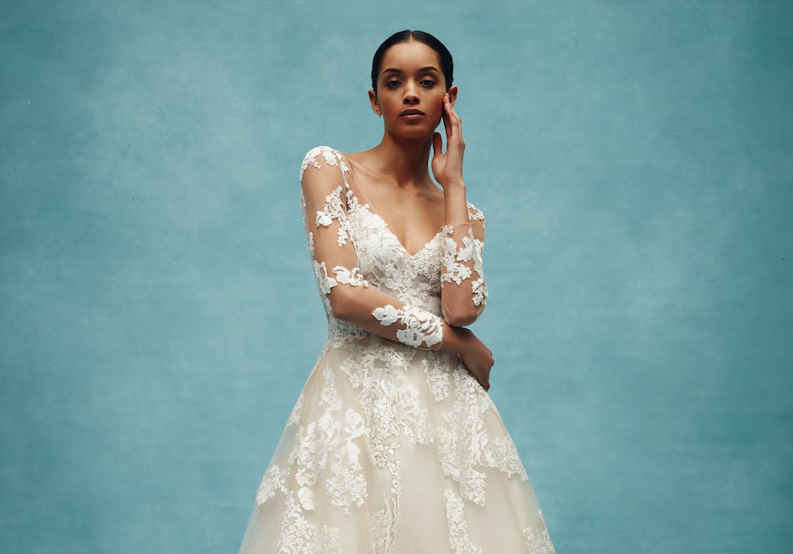 ed5b029a029d Feast your eyes on the breathtaking new bridal collection from Anne Barge.  Unveiling the spectacular Spring 2020 designs…