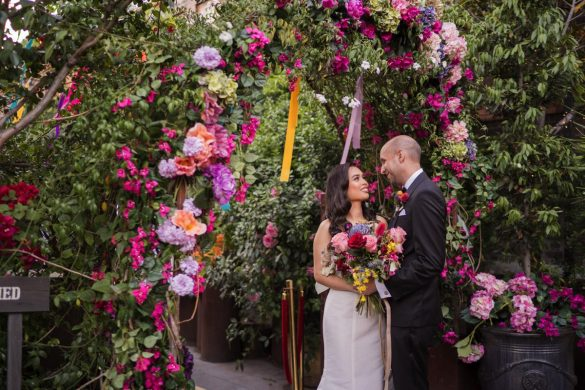 A magical South American inspired wedding
