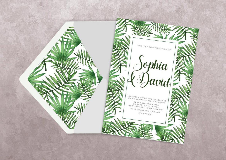 sustainable wedding stationery