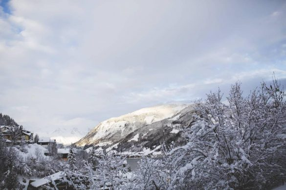 A winter wonderland in the Austrian alps