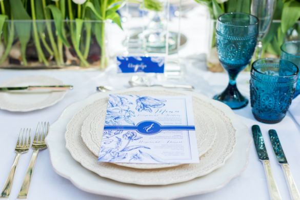 summer wedding stationery