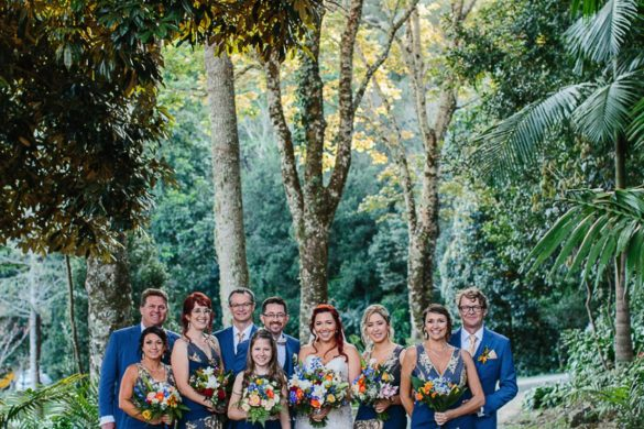 A relaxed and colourful wedding