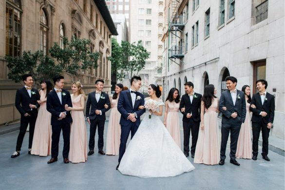 A luxurious and elegant wedding