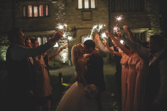 A fairytale wedding in February