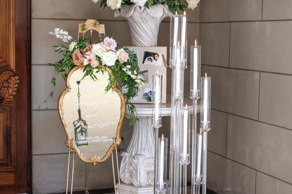 A luxurious and romantic wedding