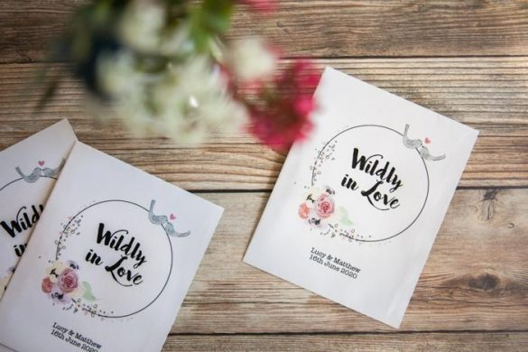 plastic-free wedding
