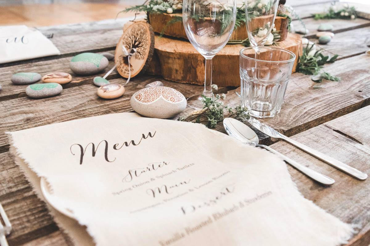 enchanting woodland wedding