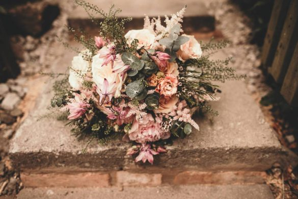 A rustic spring wedding