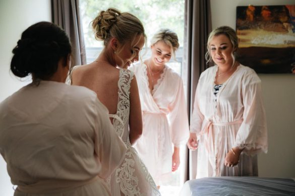A sweet pink wedding in Melbourne
