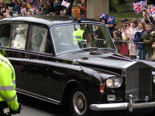 royal wedding cars